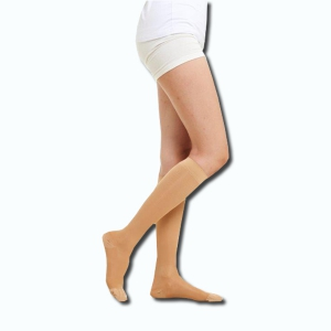 Shank High Compression Stocking (Closed Toe)Class1(18-21 mmHg)