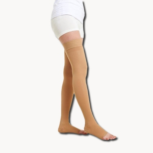 Thigh High Compression Stocking (Open Toe)Class1 (18-21  mmHg)